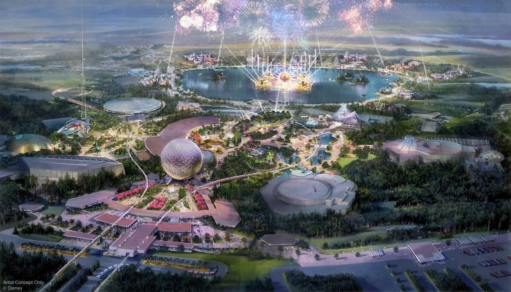 2020 is the year you MUST visit Walt Disney World but there will be Epcot Construction