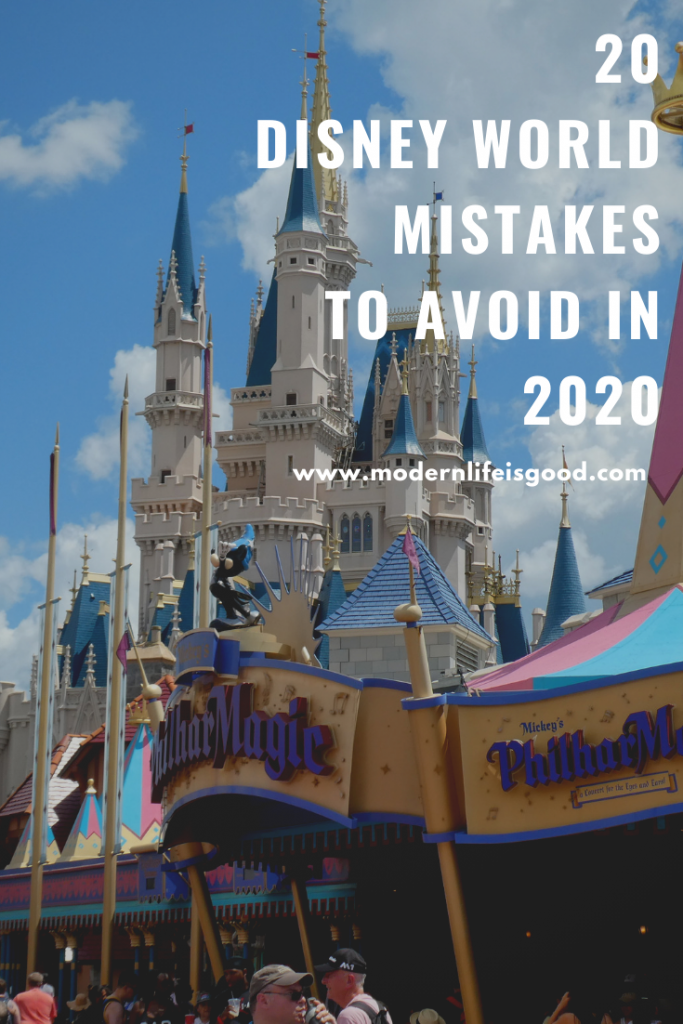 Although it is unlikely, any single mistake will ruin your vacation it will reduce your fun. Here are our Top 20 Disney World Mistakes to Avoid in 2020.