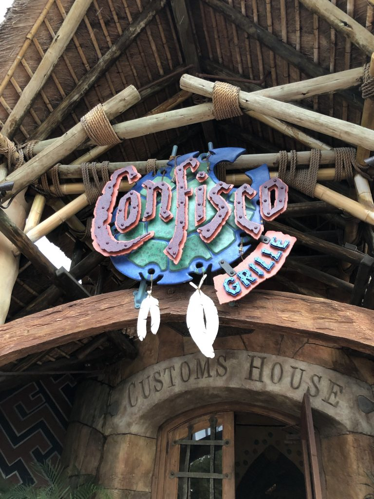 Confisco Grille Islands of Adventure