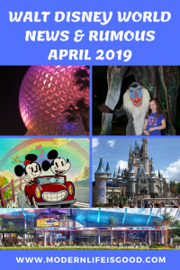 It is time for another edition of all the latest news & rumours from Walt Disney World. Our Walt Disney World News & Rumours April 2019 includes Virgin Trains, Bo Peep, delays at Hollywood Studios, construction updates at Epcot, smoking ban and more.
