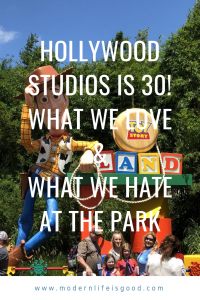 Today is Hollywood Studios' 30th Birthday. We are also continuing our series of likes and dislikes at all the Walt Disney World parks. Today it is the turn of the birthday park, as we discover what we love & hate at Hollywood Studios.