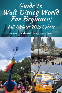 Our Guide to Walt Disney World for Beginners updated for Fall 2019 with all the latest tips and tricks to plan your 2019 & 2020 Disney World Vacation