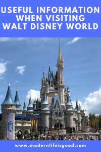 Useful Information when visiting Walt Disney World