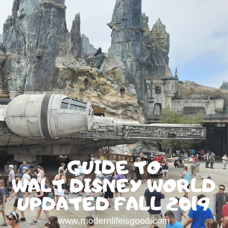 Our Guide to Walt Disney World for Beginners has been updated for Fall 2019 with all the latest tips and tricks to plan your 2019/2020 Disney World Vacation