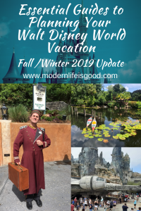 Need some Walt Disney World Planning Tips? You have come to the correct place Modern Life is Good has plenty of tips to help plan the perfect Walt Disney World Vacation. We have updated our list for Winter 2019 with all our latest Walt Disney World Tips & Hacks.