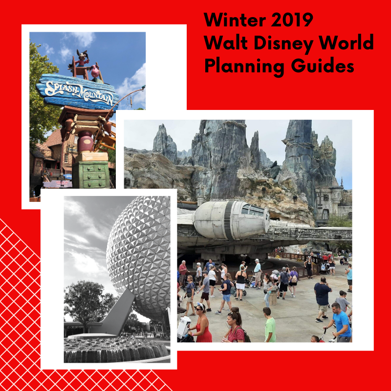 Winter 2019 Walt Disney World Planning Guides.