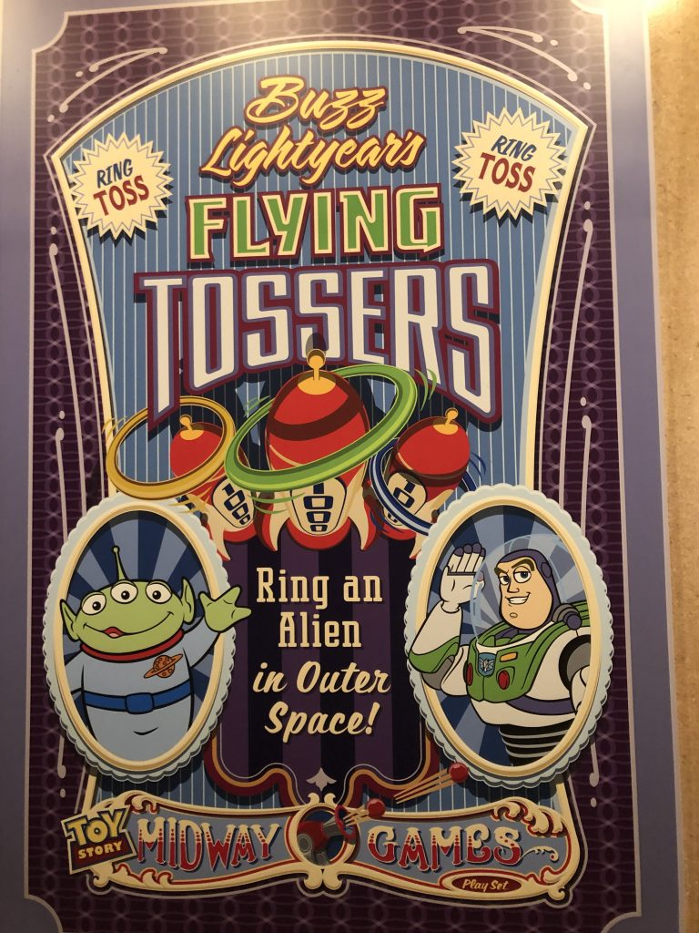 Buzz Lightyear Flying Tossers