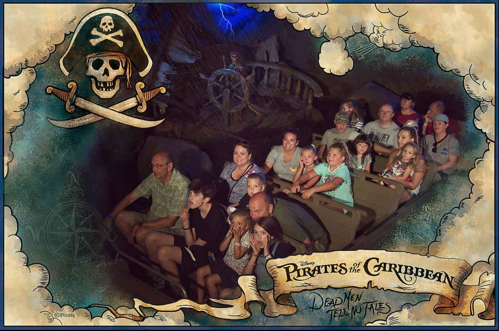 Pirates of the Caribbean the Magic Kingdom great Family Fun