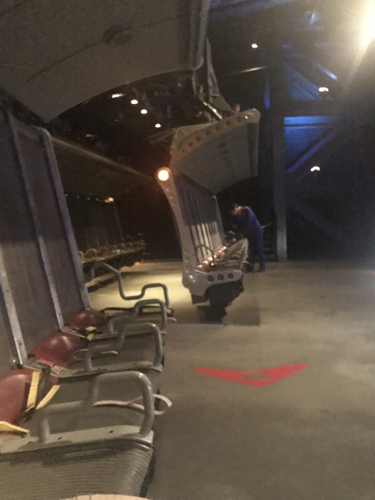 Empty Soarin attraction