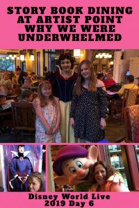 Story Book Dining at Artist Point Wilderness Lodge
