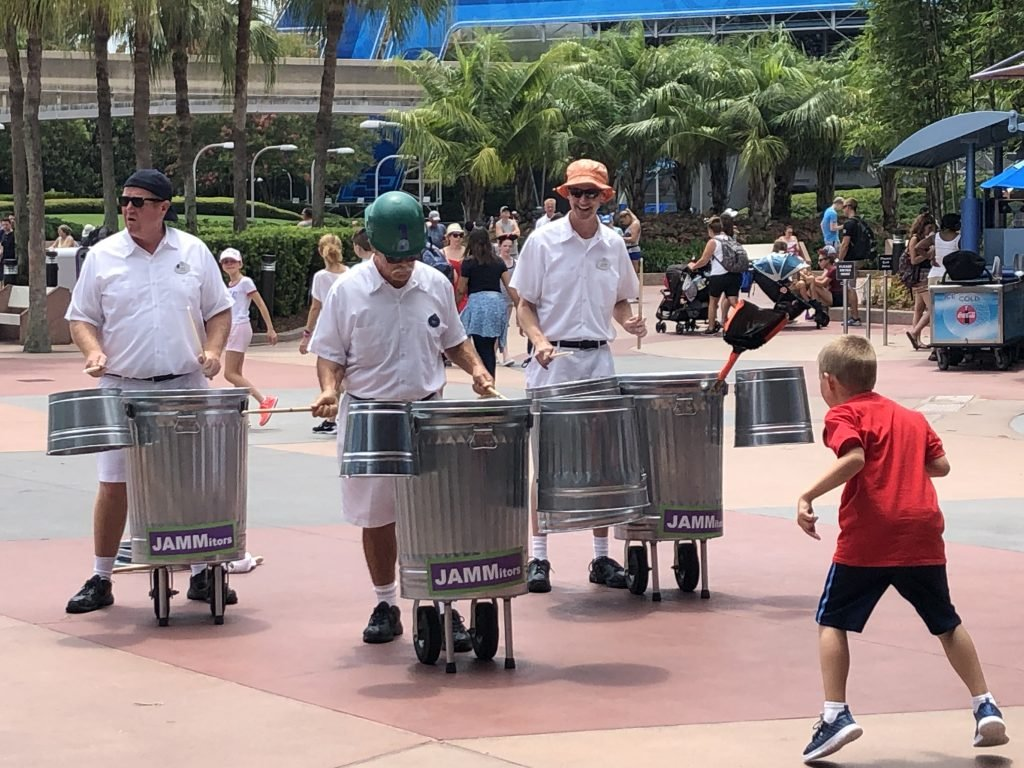 The JAMMitors at Epcot