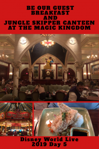 Be Our Guest Breakfast Review, Magic Kingdom and Jungle Skipper Canteen