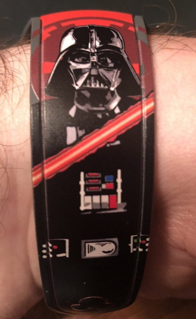 Darth Vader MagicBand available as an upgrade in 2019