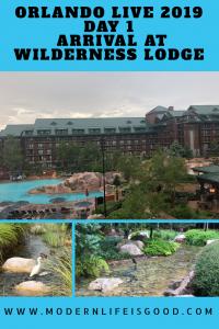 Wilderness Lodge and Virgin Atlantic