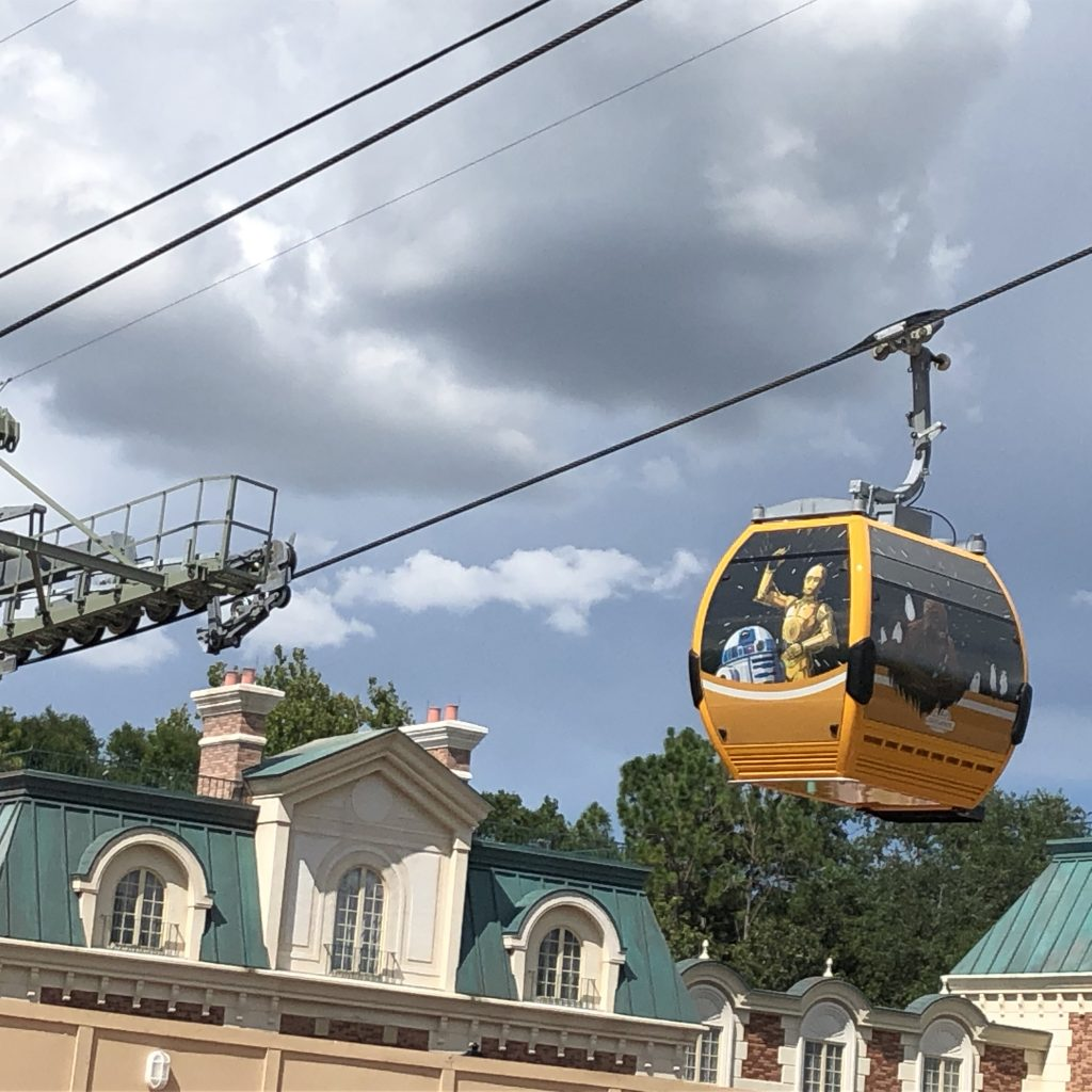 Guide to Transport at Walt Disney World the Skyliner