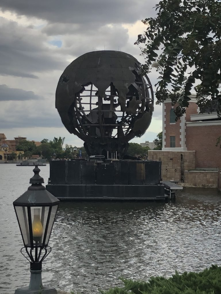 Presumably this will no longer be present when we visit Epcot