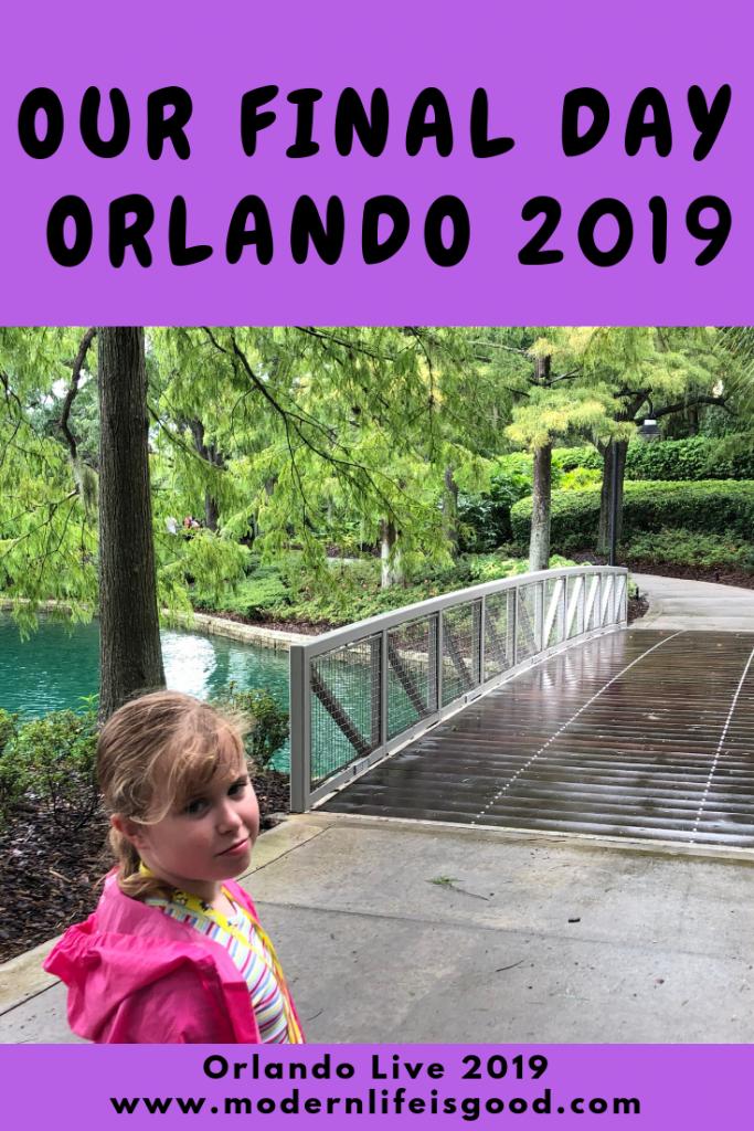 Final day at Orlando 2019