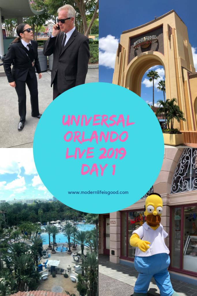 Universal Orlando Live 2019 Day 1