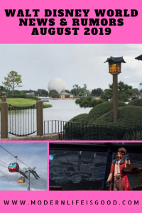 we are back with our Walt Disney World News & Rumors August 2019 including Star Wars: Galaxy's Edge, more price increases, Toledo – Tapas, Steaks & Seafood, and all the latest from Epcot. Plus could the Big Walt Disney World for August 2019 be the opening of a 5th Park?