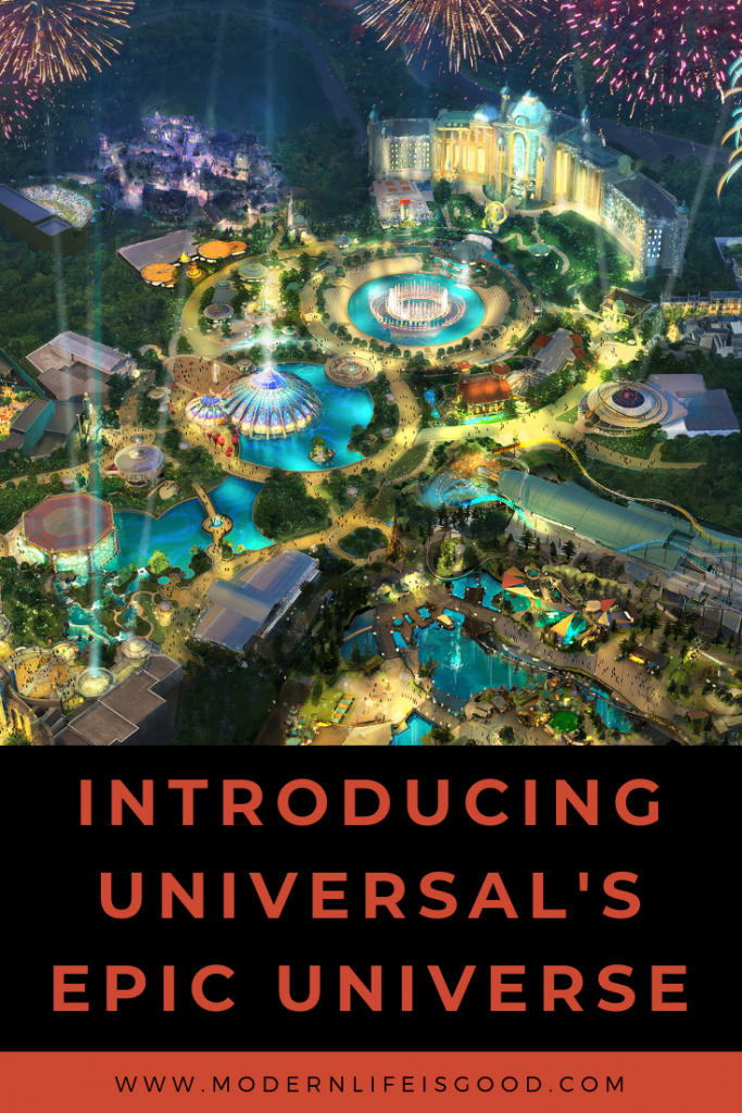 There will be a new theme park at Universal Orlando Resort. The new park will be called Universal's Epic Universe