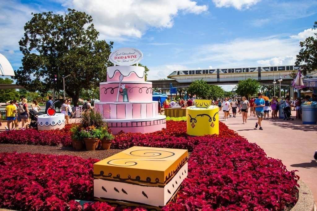 The Food & Wine Festival is now open in Epcot