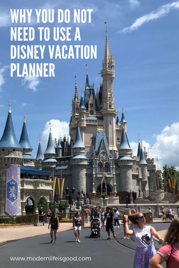 Should I use a Disney Vacation Planner or Travel Agent? We discuss the pros and cons of letting a vacation planner book you vacation to Walt Disney World