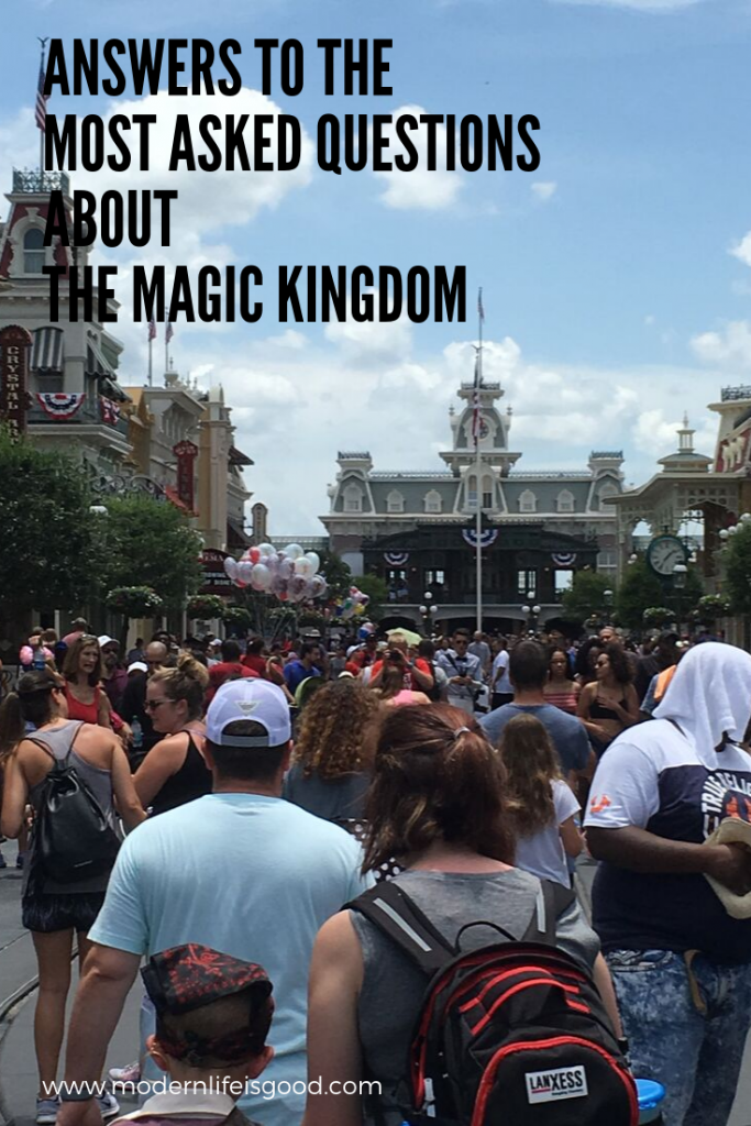 Sometimes it is difficult to find the answers to all your questions before visiting the Magic Kingdom. We have batched together a selection of useful information on the Magic Kingdom.