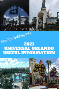 Sometimes it isn't easy to find the answers to all your questions before your Universal Orlando Vacation. We have batched together a selection of your questions about Universal Orlando Resort which you will not find elsewhere on Modern Life is Good. Our Universal Orlando Useful Information will answer many of your queries.