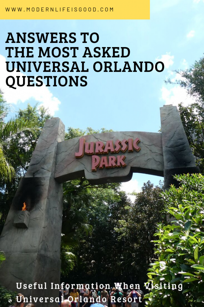 We have batched together a selection of your questions about Universal Orlando Resort which you will not find elsewhere on Modern Life is Good. Our Universal Orlando Useful Information will answer many of your queries.