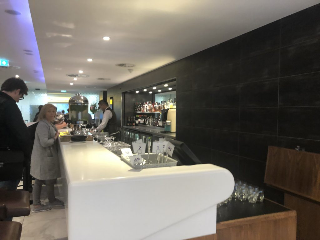 Number 1 Lounge Heathrow Terminal 3