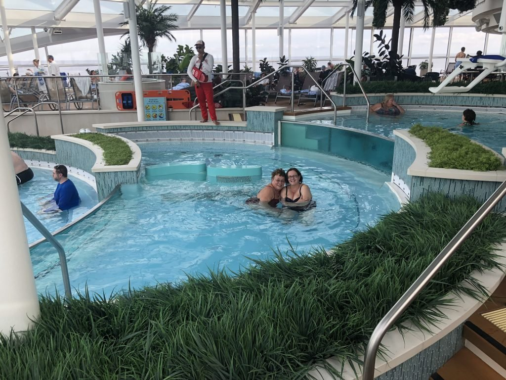 Solarium Anthem of the Seas