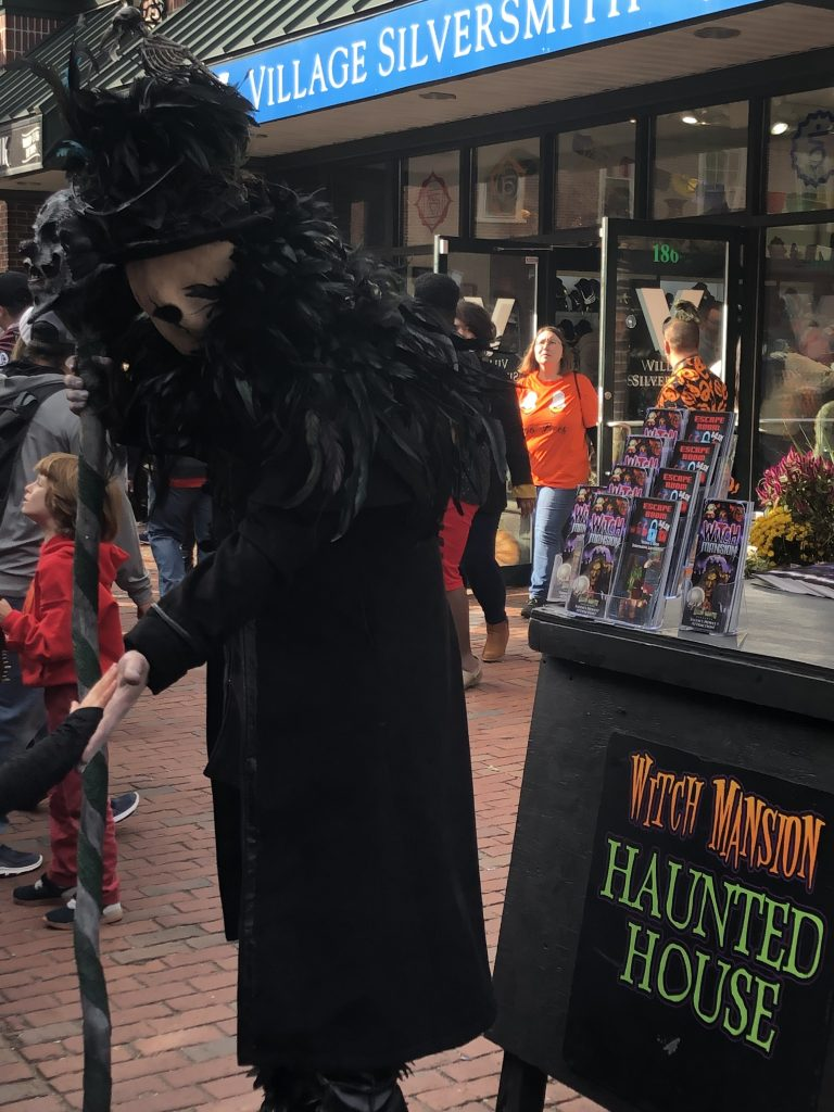 Salem the Witch City at Halloween