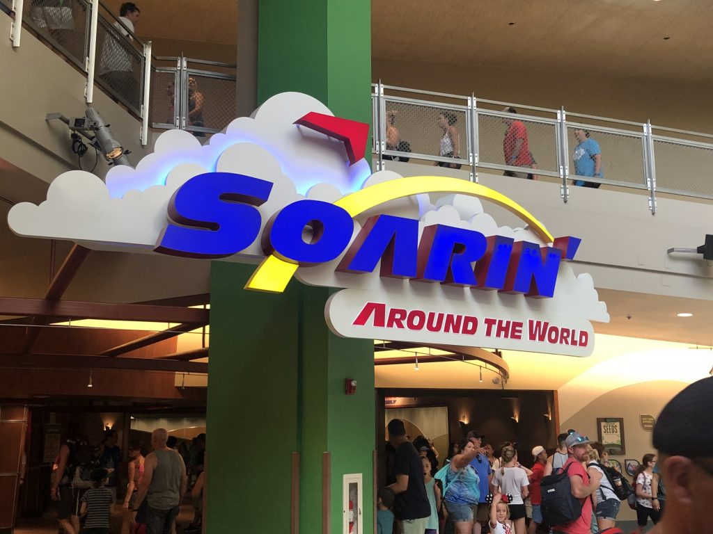 Soarin at The Land