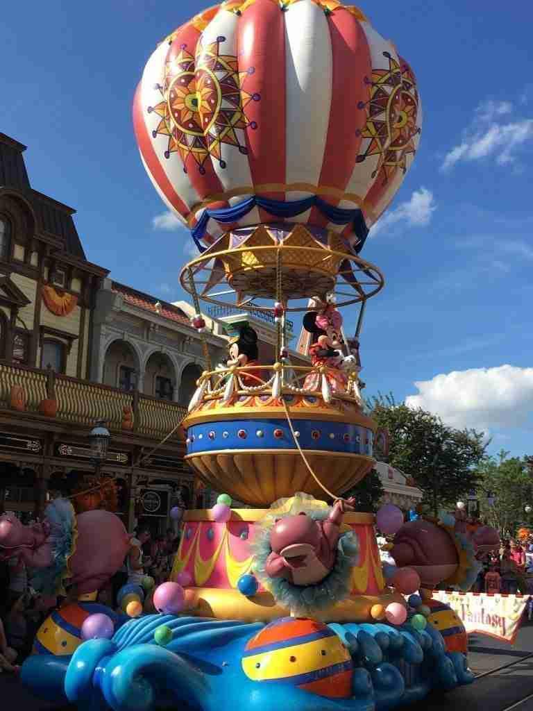 Festival of Parade at the Magic Kingdom