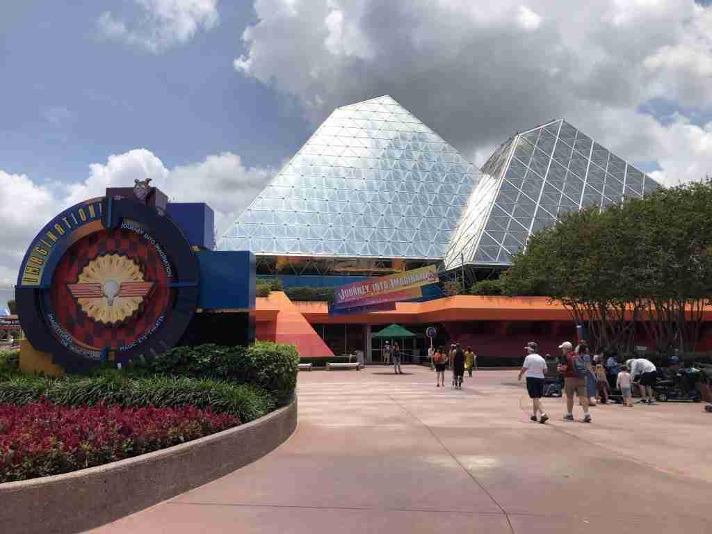 Imagination Pavilion Epcot