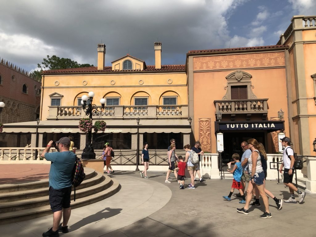 The Italy Pavilion at Epcot