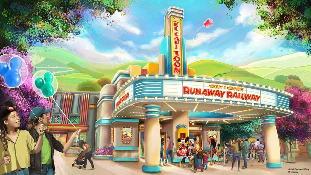 Mickey & Minnie's Runaway Railway New at Walt Disney World in 2019
