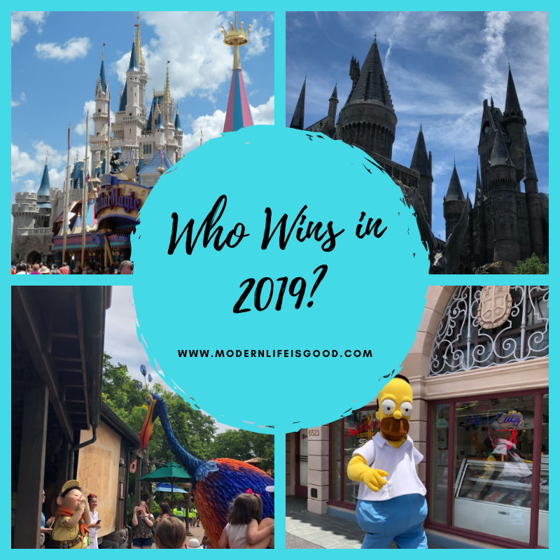 Who wins in 2019? Will it be Universal Orlando or Walt Disney World?