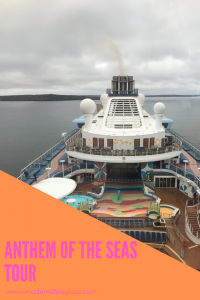 Recorded during October 2019 is our Anthem of the Seas Walk-through Tour exploring many highlights including the pools, Royal Esplanade, Two70 and Seaplex.