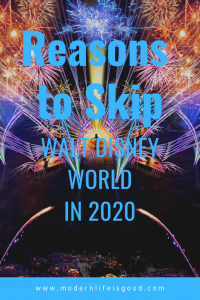 We have already discussed, here on Modern Life is Good, that we think 2020 is one of the best years ever to visit Walt Disney World. However, perhaps you are not sure and are wondering whether you should delay visiting until 2021 or 2022. Here are our reasons why you might want to Skip Walt Disney World in 2020.