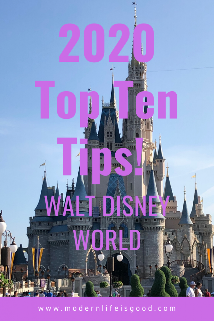 Are you planning a Walt Disney World Vacation in 2020? Our Top 10 Walt Disney World Tips 2020 will help you plan a brilliant vacation. These Walt Disney World Hacks will get you ahead of the crowd.