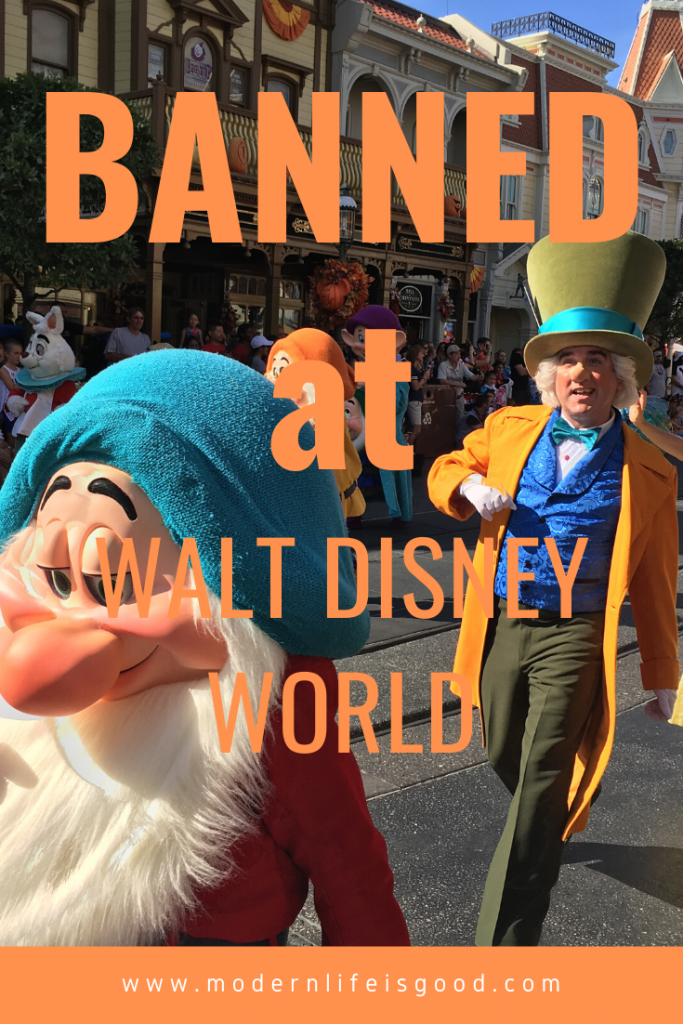 Walt Disney World Theme Parks have several rules to ensure guest safety & protect the park environment. In 2019 there were several new restrictions introduced including a ban on smoking and restrictions on strollers inside the park. In this post, we cover what is banned at Walt Disney World.
