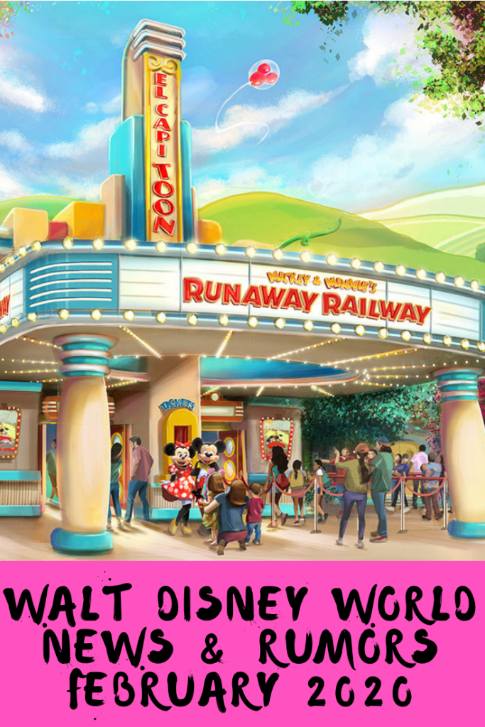 Our February 2020 Disney World News & Rumors has all the latest from the resort. This month's update includes Hollywood Studios FastPass+ changes, Star Tours, Disney's Riviera Resort & Epcot new attractions and construction.