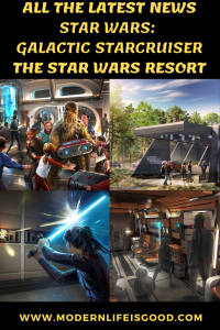 It has been announced that guests can start enjoying this unique experience in 2021. Plus you can start planning your vacation soon as reservations will open in 2020 for Star Wars: Galactic Starcruiser