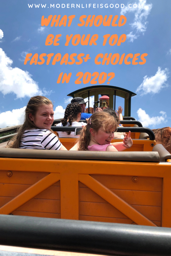 Are you visiting Walt Disney World in 2020? Here are our top FastPass+ Picks for 2020. Book these attractions to minimize yor wait.