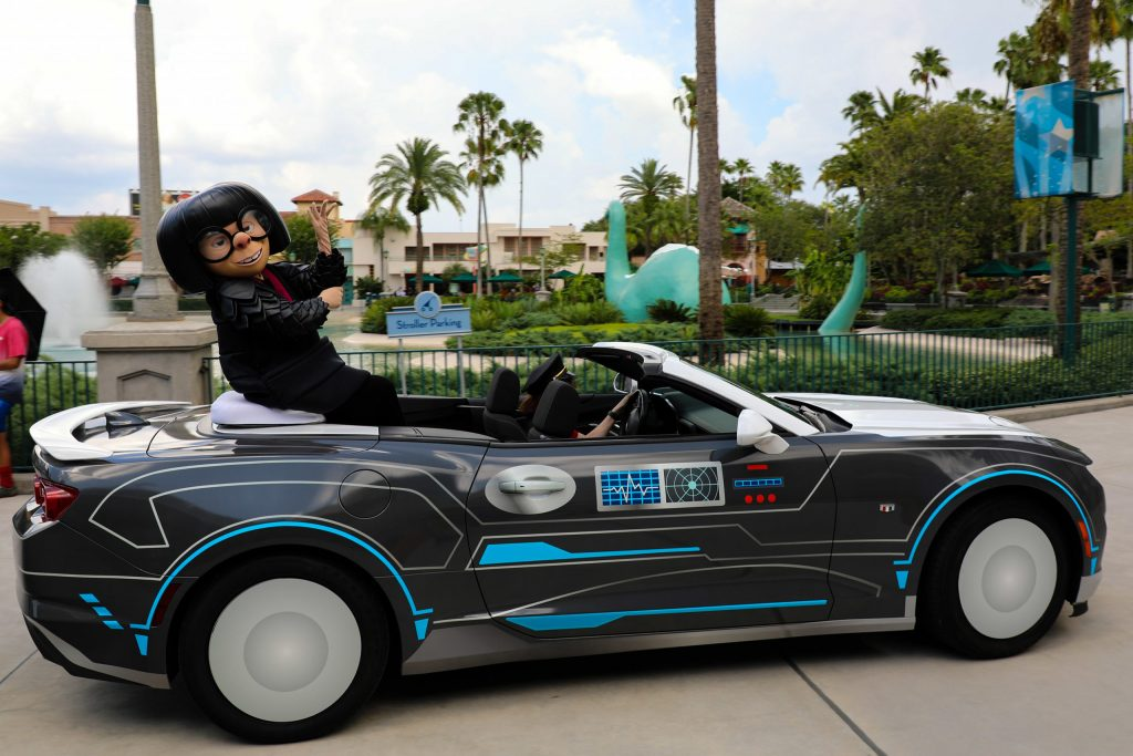 Edna Mode 2021 at Hollywood Studios