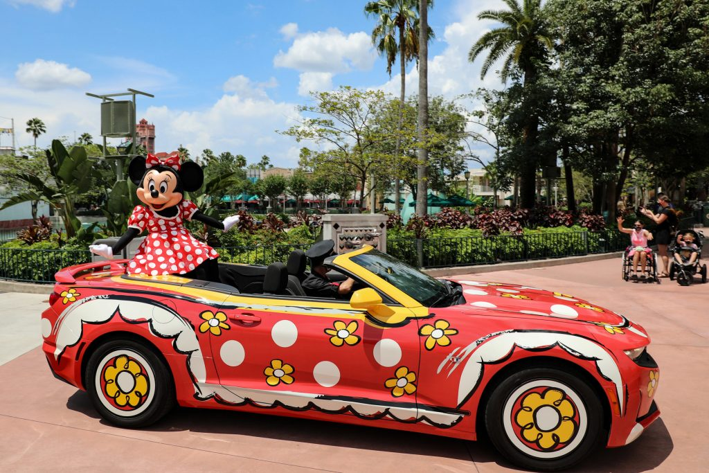 Mickey and Friends Motorcade Hollywood Studios