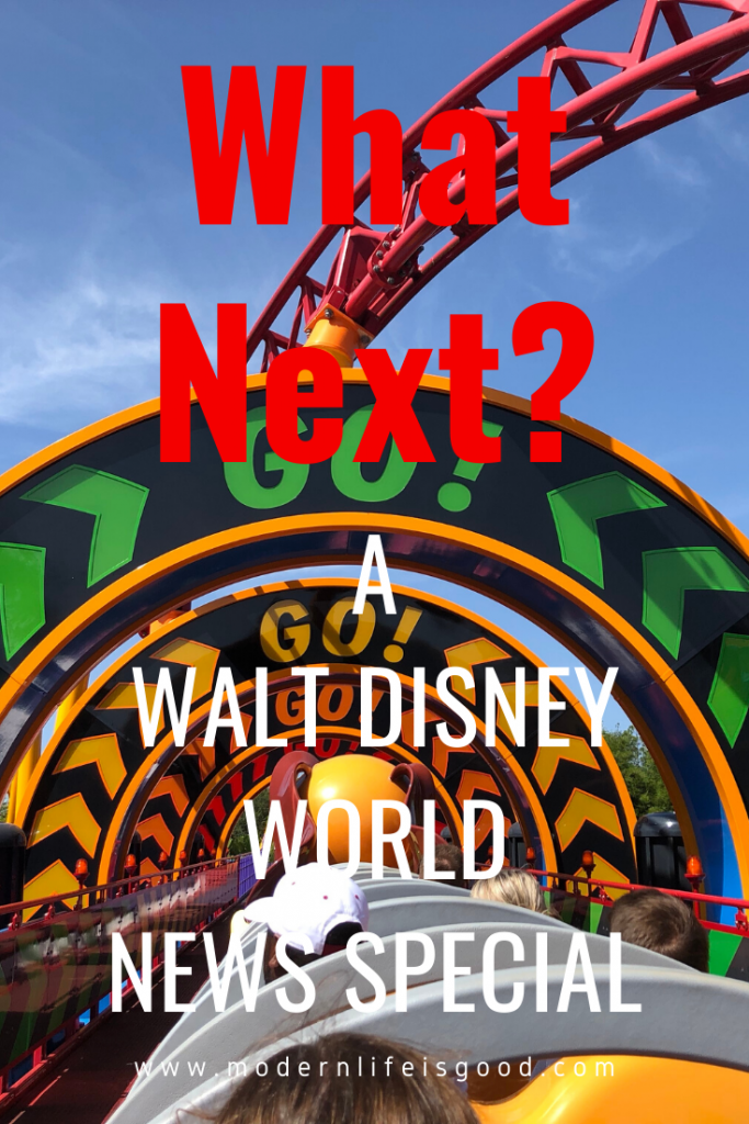 "In our Walt Disney World News Special, we will bring you up to date with everything that has happened and will ask ""What Next?"" for the resort."