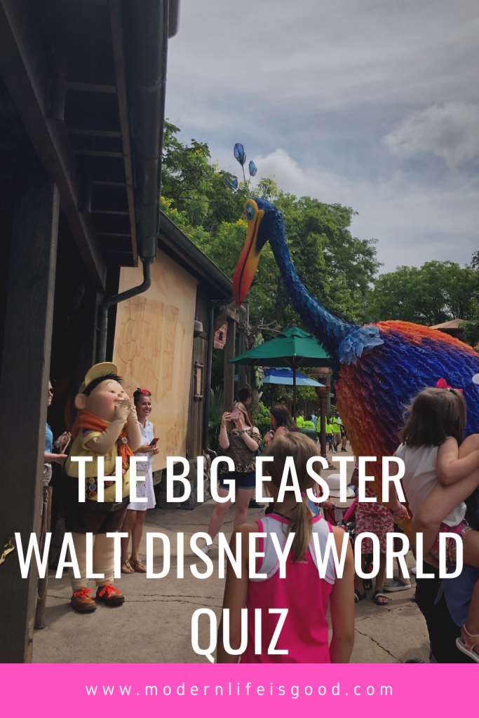 Who could ever have imagined that Walt Disney World would be closed this Easter? Are you looking for something to do to pass the hours? Have a go at our new Big Easter Disney World Quiz. You will find the answers at the bottom of the post.