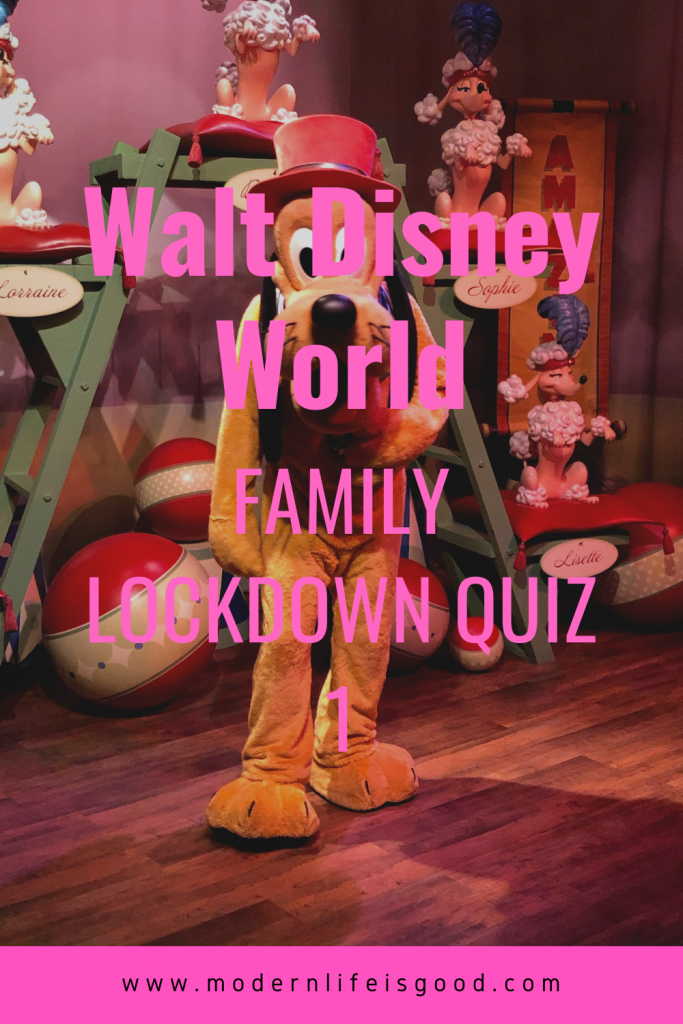 Unfortunately, it does not look like Walt Disney World will be reopening anytime soon. We promised you a quiz a couple of days back here on Modern Life is Good. Here is our first Walt Disney World Lockdown Quiz. Answers are available at the bottom of the page.